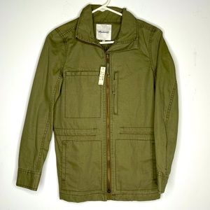 Madewell Military style jacket size; extra small